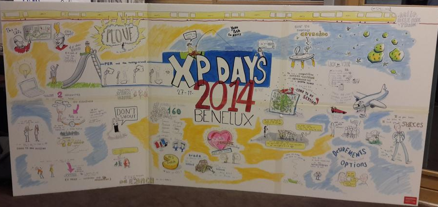 XP Days 2014 sketchnote day 1