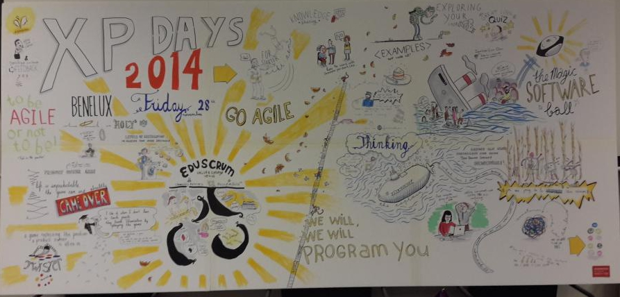 XP Days Benelux 2014 sketchnote day 2
